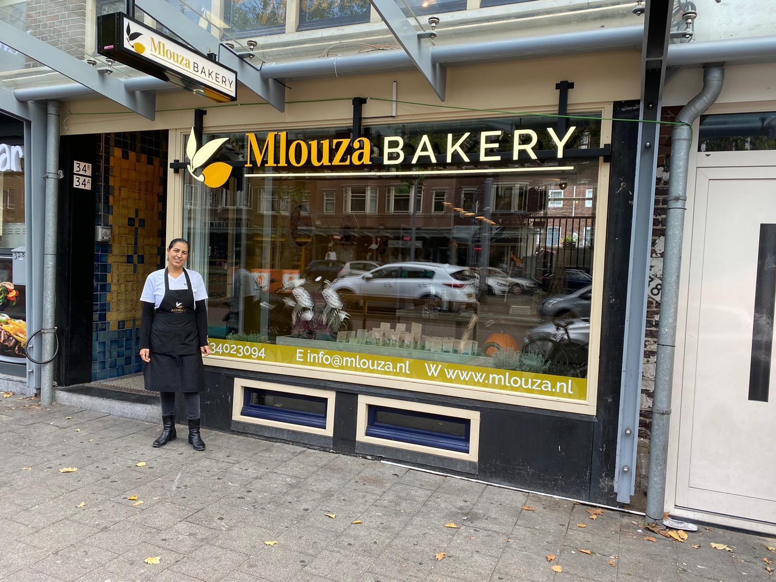 Welkom mlouza bakery: Positief en creatief, juist nu!