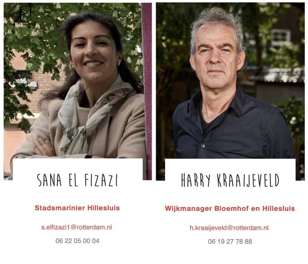 Harrij Kraaijeveld en Sana El Fizazi Alliantie Hand in Hand