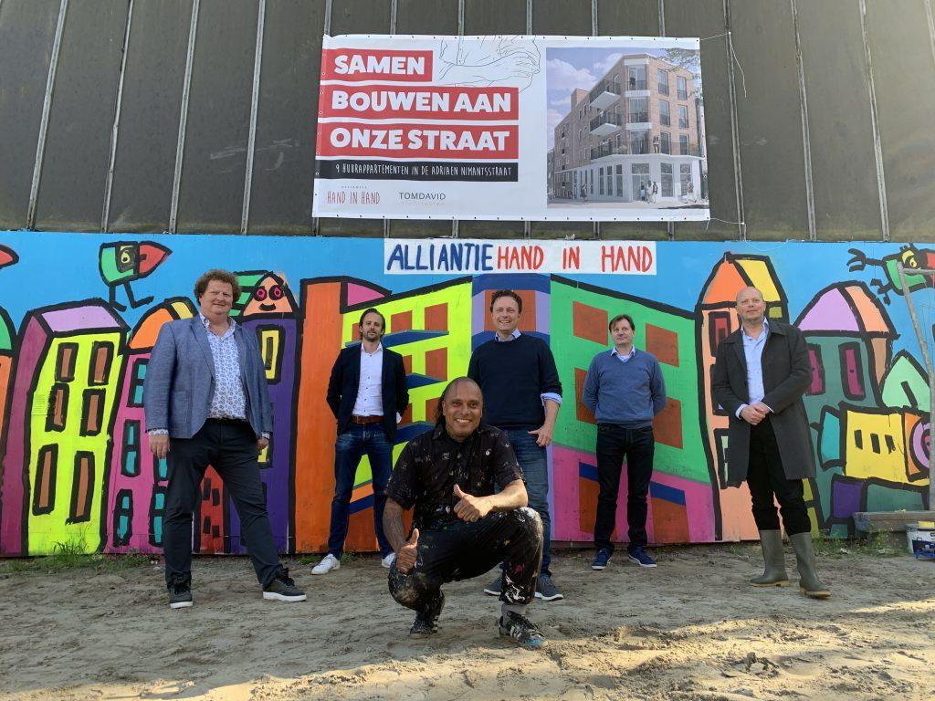 Start bouw huurappartementen Adriaen Nimantsstraat